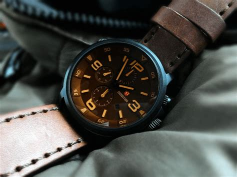 Expedition 6392 Original jual expedition 6392 black steel brown glass brown leather
