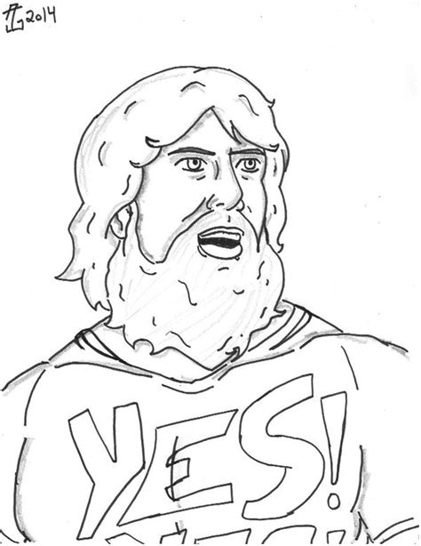 daniel bryan coloring pages www imgkid com the image