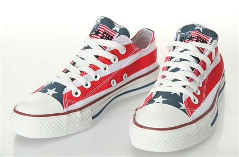converse american flag sneakers american flag converse chuck all low top by