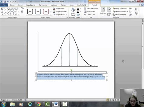 bell curve in excel 2010 template