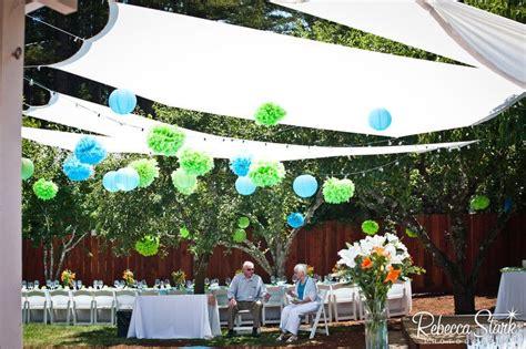 diy backyard party ideas diy backyard canopy party ideas pinterest