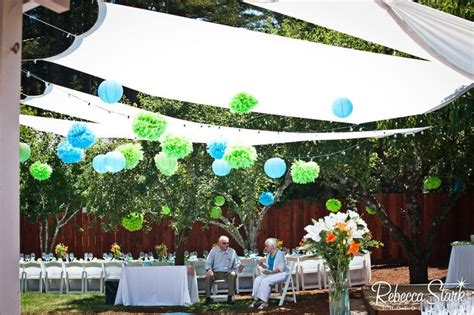 backyard canopy diy diy backyard canopy party ideas pinterest