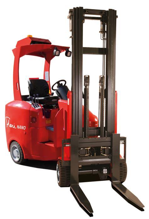 Entry Level Forklift entry level articulated forklift option material handling logistics