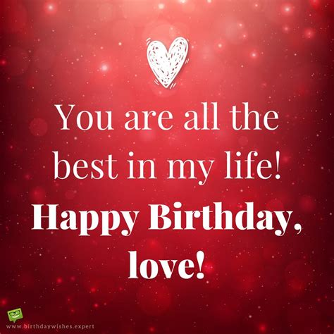 Happy Birthday My Best Wishes For You Cute Birthday Messages To Impress Your Girlfriend