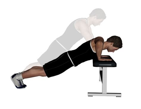 bench press or push ups incline push up exercise bodybuilding wizard