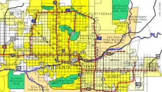 west valley arizona map arizona aaroads the valley of the sun