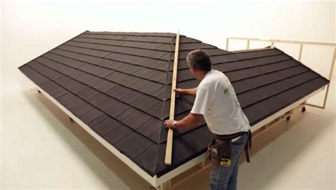 How To Install A Hip Roof technical constructing hip section of metrotile roof metrotile