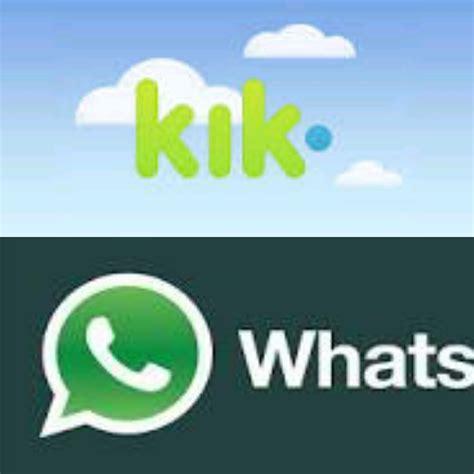 better than whatsapp whatsapp vs kik which is better