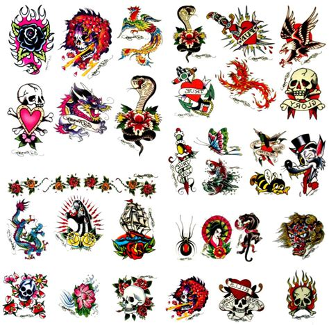 Ed Hardy Tattoos For Dogs by Ed Hardy Skull Www Pixshark Images