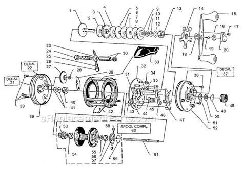 abu garcia parts diagrams abu garcia 5500 c3 parts list and diagram 99 02