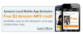 amazon mp3 downloads coupon free mp3 credit via local