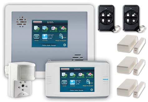 affordable wireless home security burglar alarm package