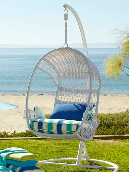 pier one imports swing chair home dzine shopping on trend hanging chair