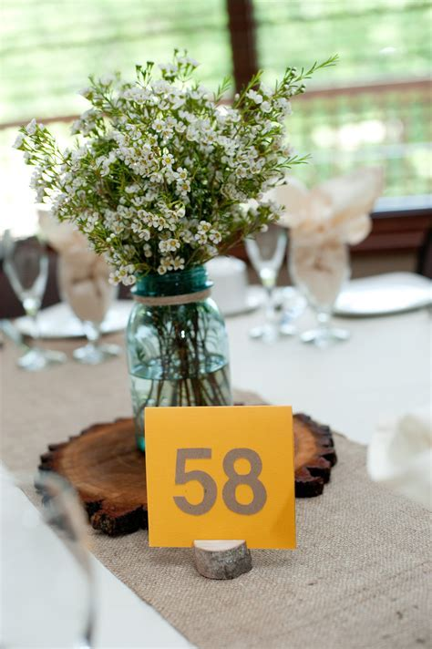 Rustic Wedding Decor   The First Year