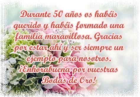 Feliz Aniversario De Bodas Oro Un Hijo Cancionrs | dedicatorias bonitas para 50 a 241 os de matrimonio im 225 genes