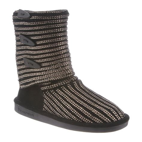 bearpaw knit boots bearpaw knit metallic 14 inch s boots