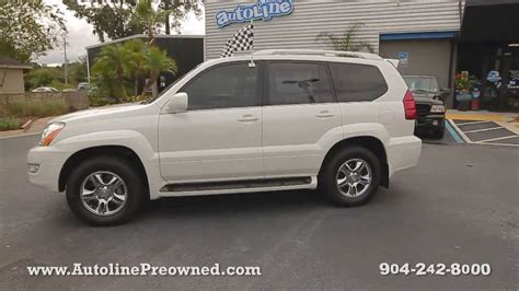 used lexus gx470 for sale autoline preowned 2006 lexus gx 470 for sale used walk