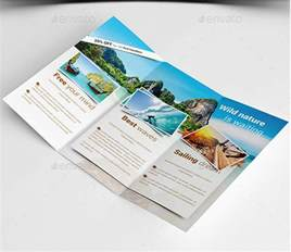 vacation brochure templates 15 beautiful travel vacation brochures templates desiznworld