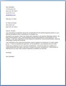 Cover Letter For A Dental Assistant by Dental Assistant Resume Cover Letter