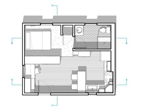 300 sq ft studio 300 sq ft apartment layout mulberry 300 sq ft studio