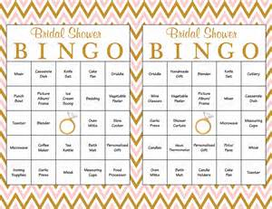60 bridal bingo cards blank amp 60 prefilled cards printable