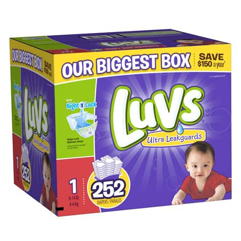Diapers Pers luvs diapers as low as 0 05 per shipped