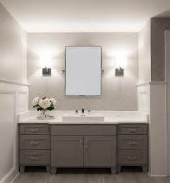 design ideas small white bathroom vanities: white and grey bathroom transitional bathroom cory connor design