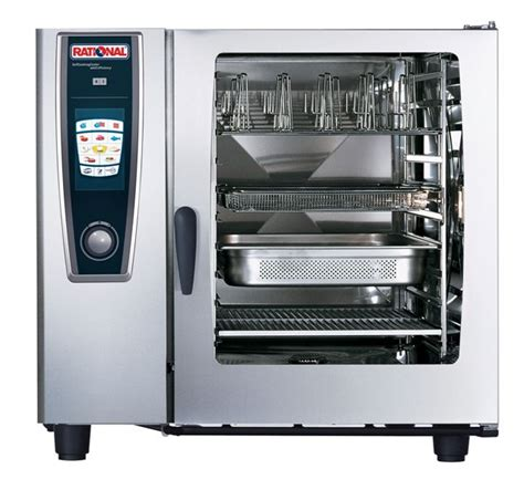 Oven Combi Rational 20 grid gas combination ovens 10 x 2 1gn rational rational