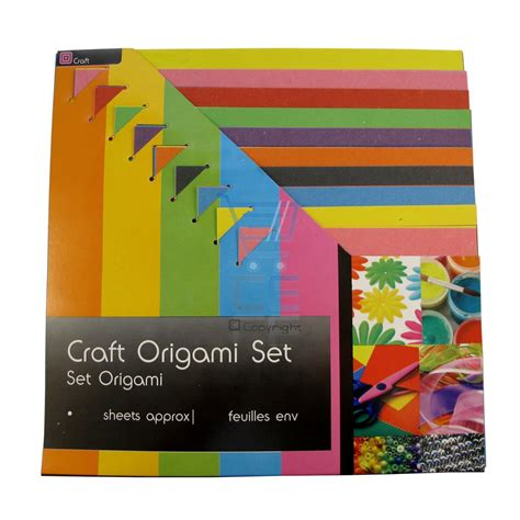 Origami Paper Set - craft origami paper set 70 sheets assorted colours