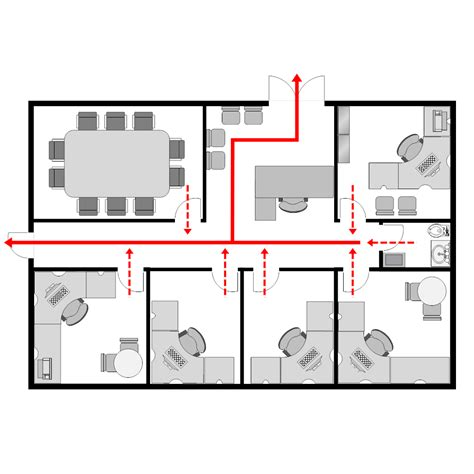 office evacuation plan 2