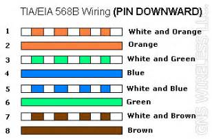 cat5e color order cat 5 wiring color code diagram cat free engine image