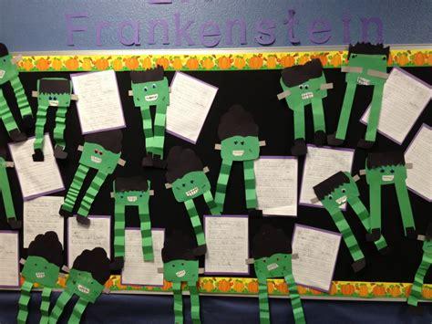 ideas frankenstein frankenstein student activity bulletin board