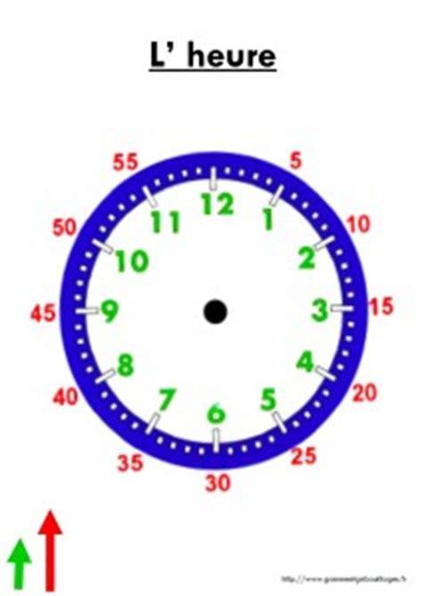 Fabriquer Horloge by Horloge 224 Construire Lire L Heure