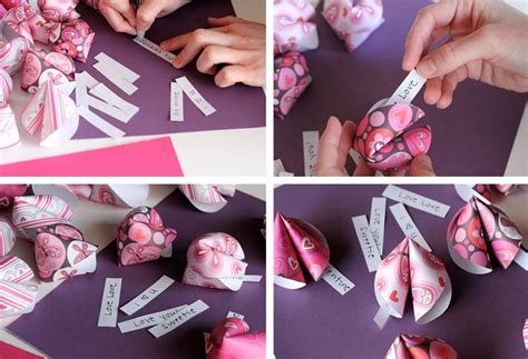 How To Make A Gift Card - how to make a card for valentine s day in the form of a cookie with the predictions