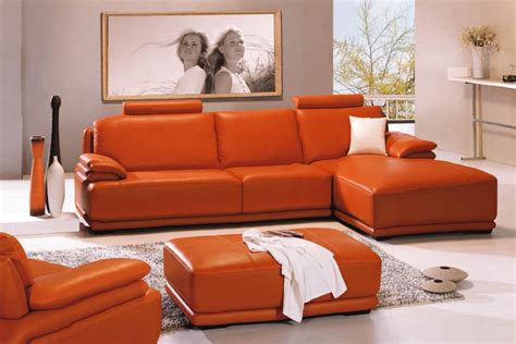 Orange Leather Sofa Set Buy Orange Leather Sofa Set In Lagos Nigeria