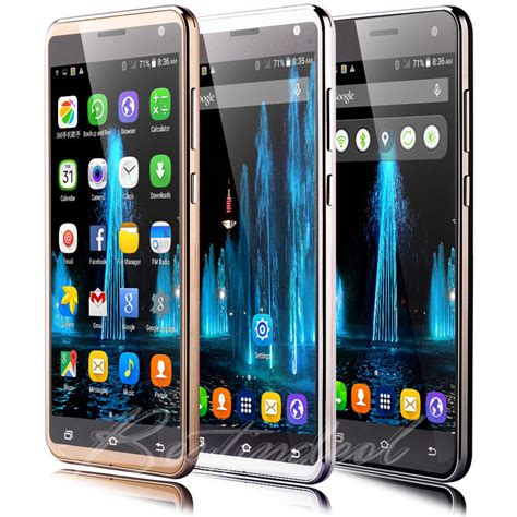 5 Hp Android Dual unlocked 5 5 3g gsm smartphone android cell phone dual sim wifi at t ebay