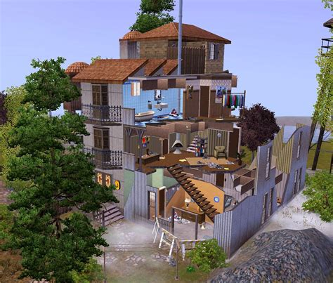 Sims House Building by Mod The Sims The Destroyed Building