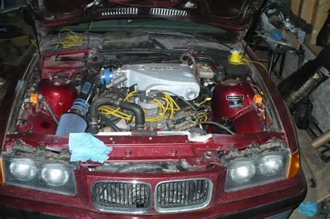 bmw 350is underhood of engine readers rides