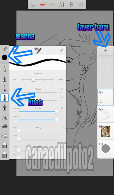 tutorial sketchbook kartun tutorial edit foto kartun di android dengan aplikasi
