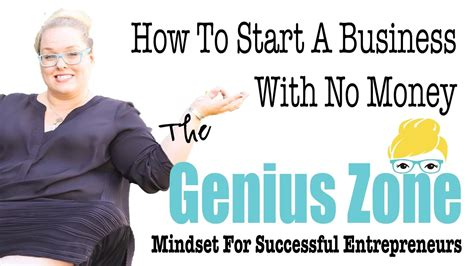 genius how to start a business with no money