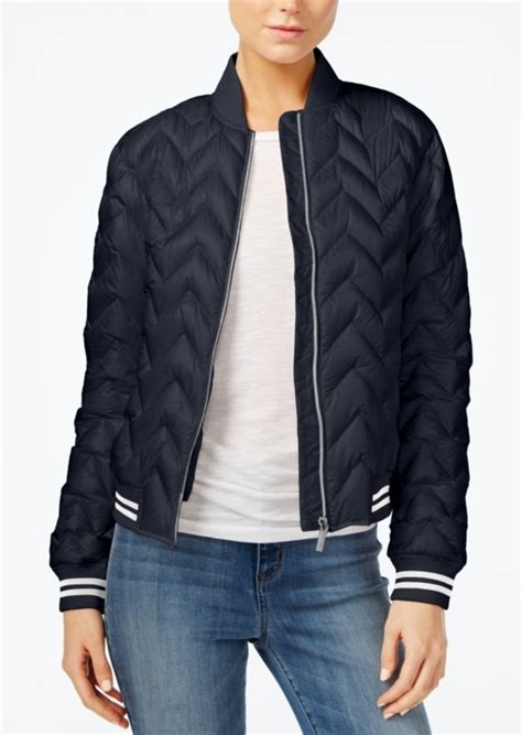 Armani Quilted Jacket by Armani Exchange Armani Exchange Quilted Bomber Jacket