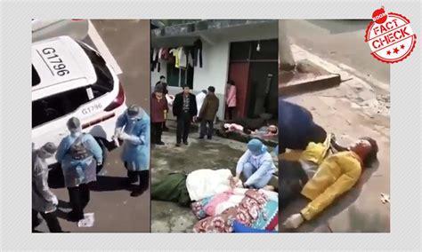 video shows chinese policemen killing coronavirus patients