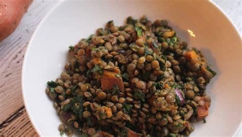 Lentil Detox Salad by Sweet Potato Lentil Kale Detox Salad