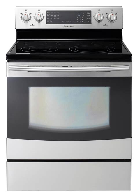 samsung electric range samsung ne595r1absr 5 9 cu ft electric range stainless steel sears outlet