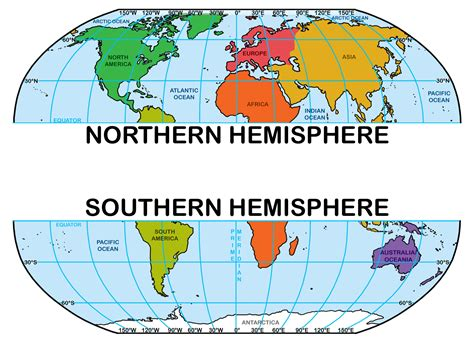 the southern hemisphere clip world map w latitude and longitude grayscale