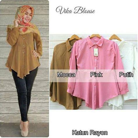 Baju Dress Wanita Baju Murah Muslim Blus Tunik Kode Mf T1310 150 jual tunik vika murah baju atasan wanita model terbaru blouse murah dress remaja murah
