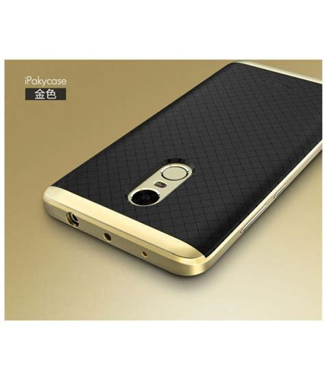 Xiaomi Redmi Note 2 Alumunium Back Casecover Ipaky Iphone Tempered xiaomi redmi note 4 shock proof ipaky golden