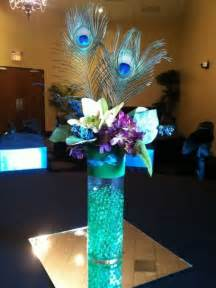 Martini Glass Flower Arrangement - 37 awesome peacock wedding ideas photo 7 pictures to pin