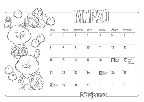 Calendario Cancion Calendario Infantil 2016 Para Imprimir Y Colorear