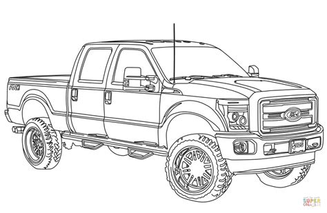 ford trucks coloring page big ford trucks coloring pages coloring pages